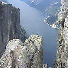 Glimps of the fjord by Annbjørg  Næss