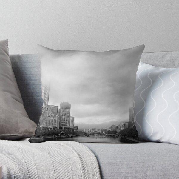 Morning Melbourne Storm - Victoria - Australia Throw Pillow