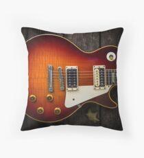 Gibson Les Paul Throw Pillow