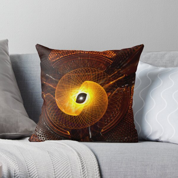 Washing machine physiogram Throw Pillow