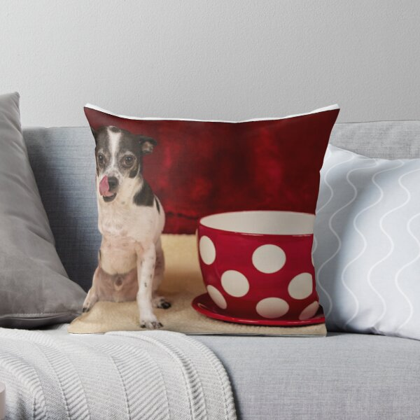 I ate the whole thing! Throw Pillow