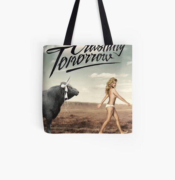 Crashing Tomorrow 'White Bikini' Poster All Over Print Tote Bag