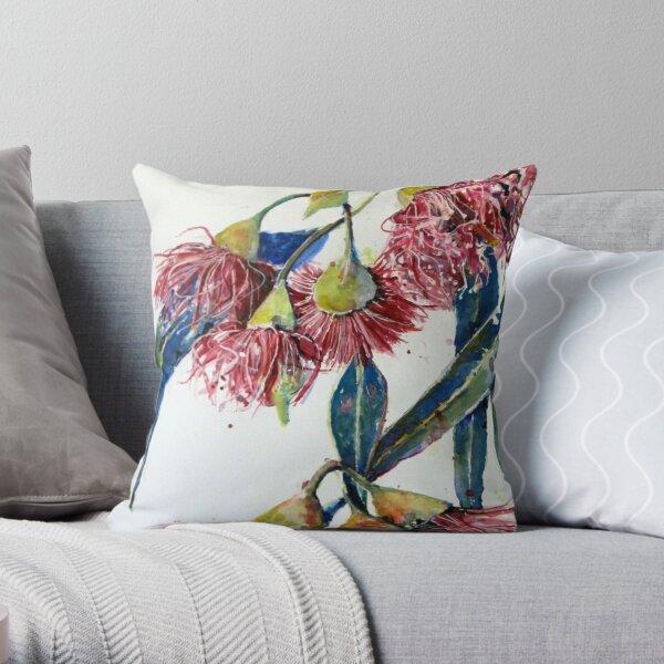 Eucalyptus gum blossoms2 Throw Pillow