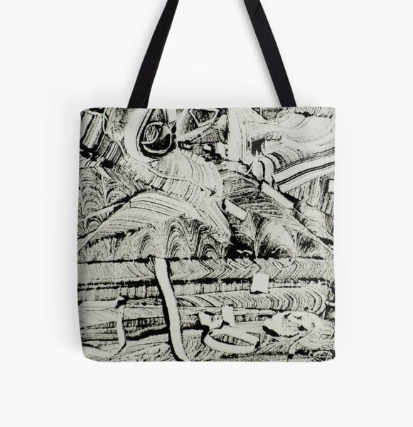 on the couch All Over Print Tote Bag