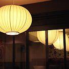 Japanese lantern reflection by crazybeakz