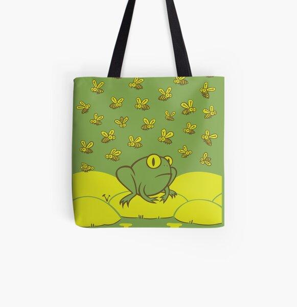 Frog Pond All Over Print Tote Bag