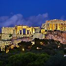 The Parthenon & the Propylaea by Hercules Milas
