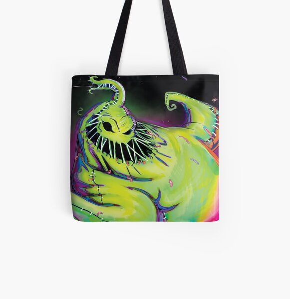 Oogie Boogie All Over Print Tote Bag