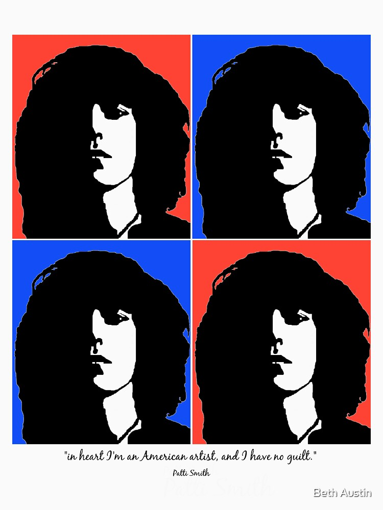 Patti Smith- American Artist | Unisex T-Shirt