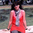 Self in Spain by BevsDigitalArt