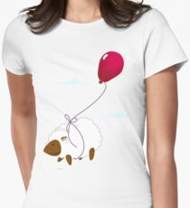 SheepCanFly Womens Fitted T-Shirt