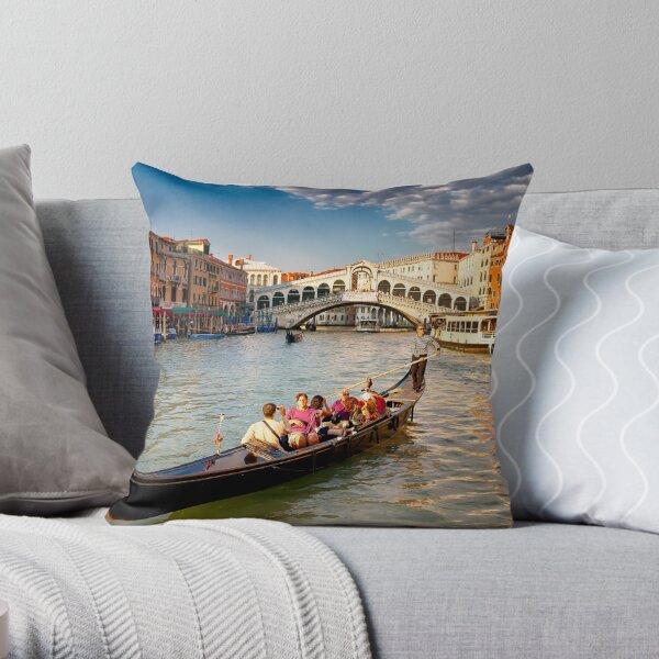 Classic Venice Throw Pillow