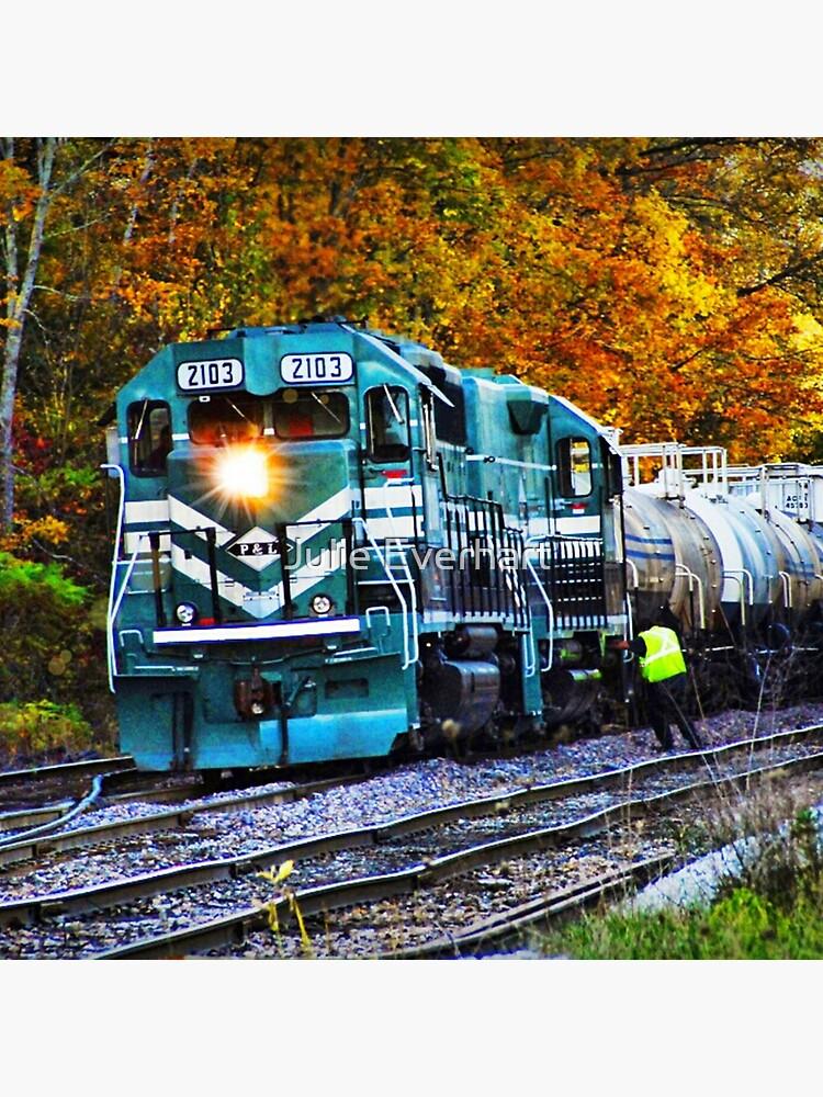 Train in Fall by julev69