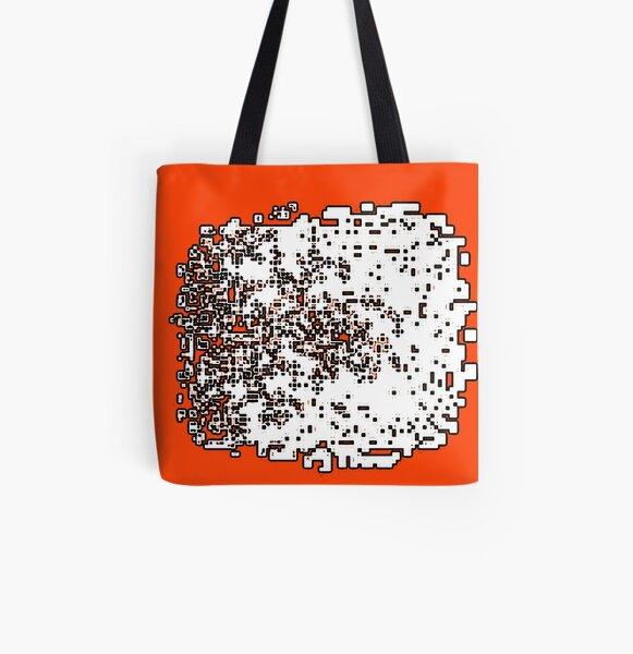 Polka Dot Creature #3 All Over Print Tote Bag
