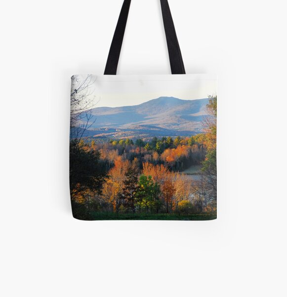 Mountains of Belmont All Over Print Tote Bag