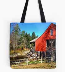 Red Grist Mill of Vermont Tote Bag