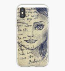 Clara Oswald iPhone Case