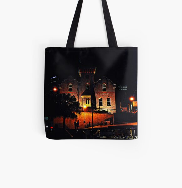 Night at The Rocks All Over Print Tote Bag