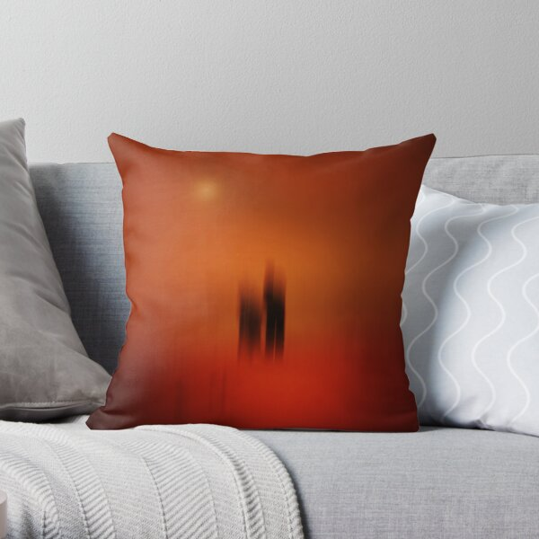EARTH SPIRITS Throw Pillow