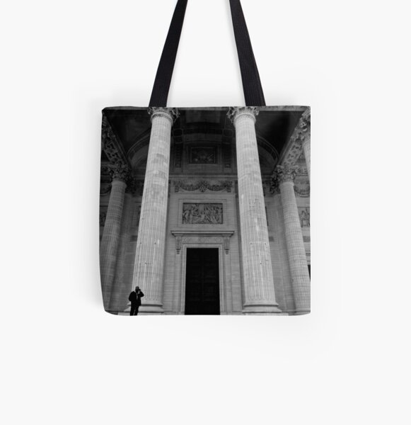Putting the Pantheon in perspective - Paris, France All Over Print Tote Bag
