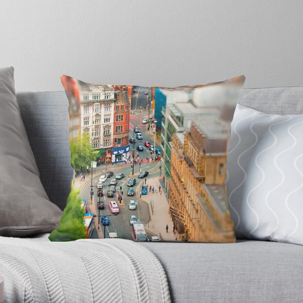 Manchester 'Tilt n Shift' Throw Pillow