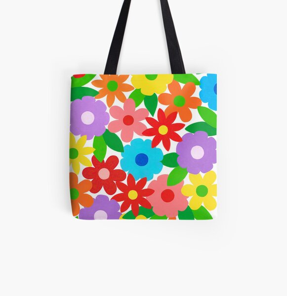 FLOWER SPLENDOR All Over Print Tote Bag