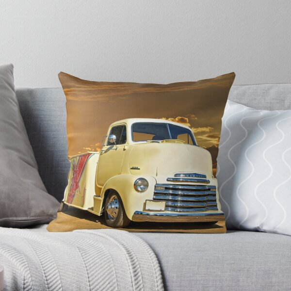 Cab Over Engine Pillows Cushions Redbubble