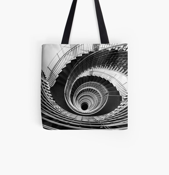 Down the Rabbit Hole All Over Print Tote Bag