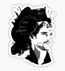 Save Will Graham Sticker