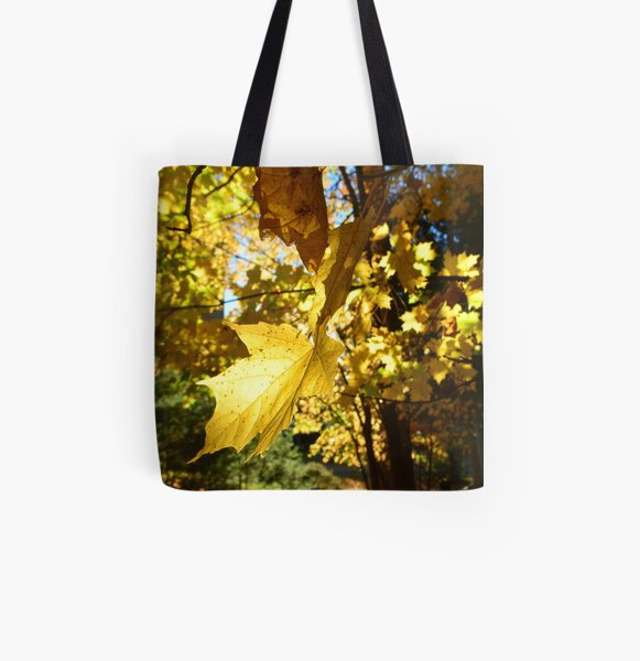 Yellow All Over Print Tote Bag