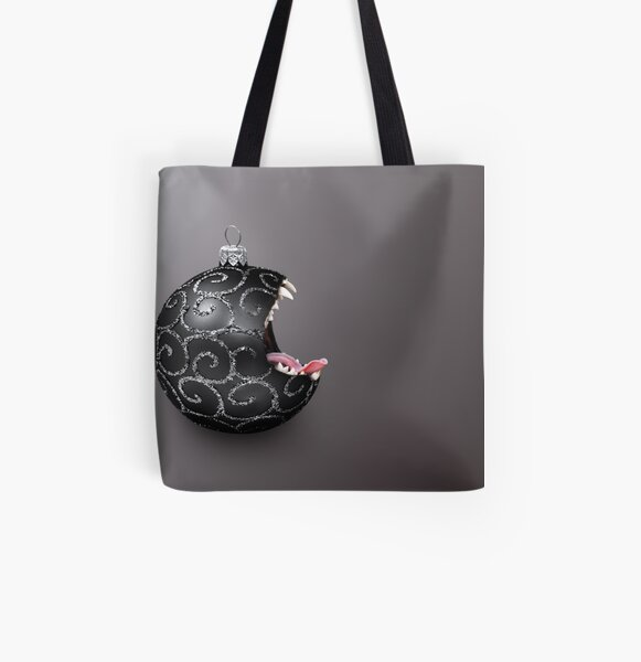 Scary Bauble All Over Print Tote Bag
