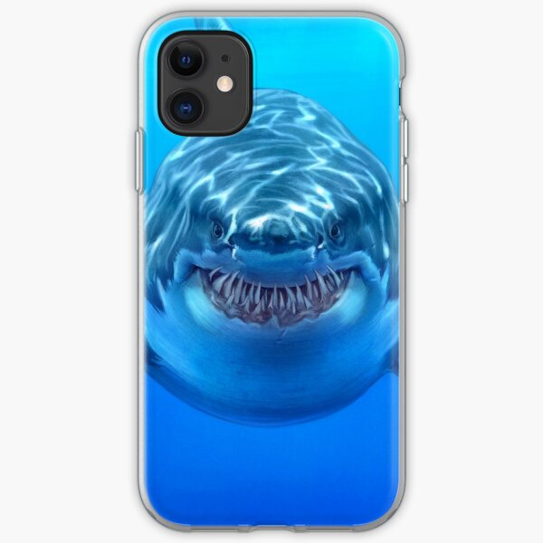 Great White iPhone Soft Case