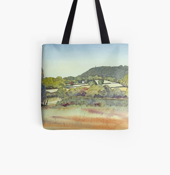 Frodsham Hill All Over Print Tote Bag