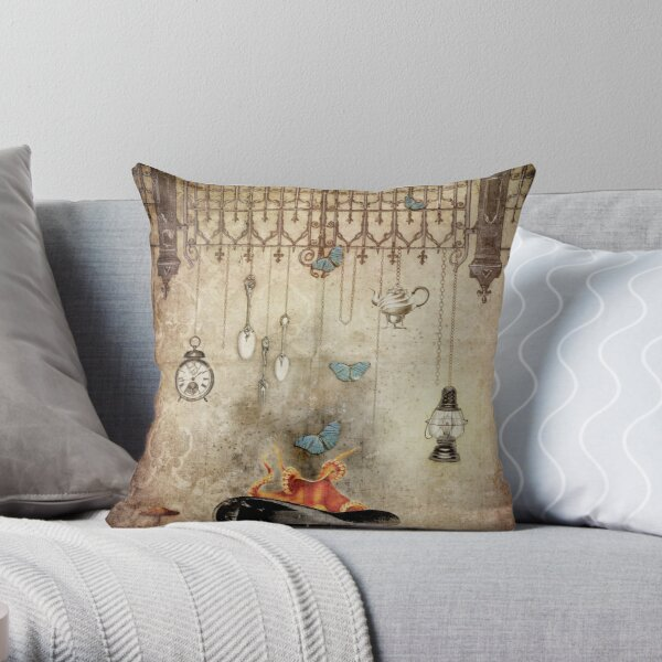 Box of Darkness Throw Pillow