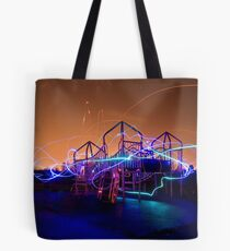 The Night The Fairies Play Tote Bag