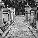 Pere LeChaise B&W by martinilogic