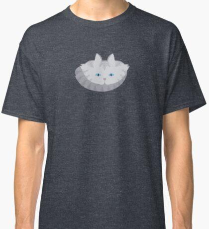 Light Grey #01  Tabby Cat Cattern [Cat Pattern] Classic T-Shirt