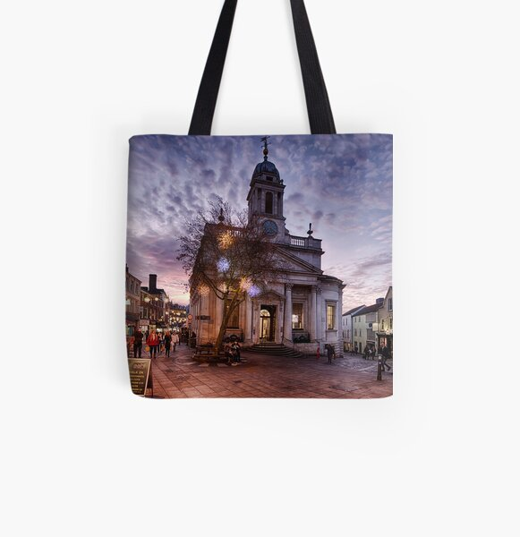 London Street, Norwich All Over Print Tote Bag