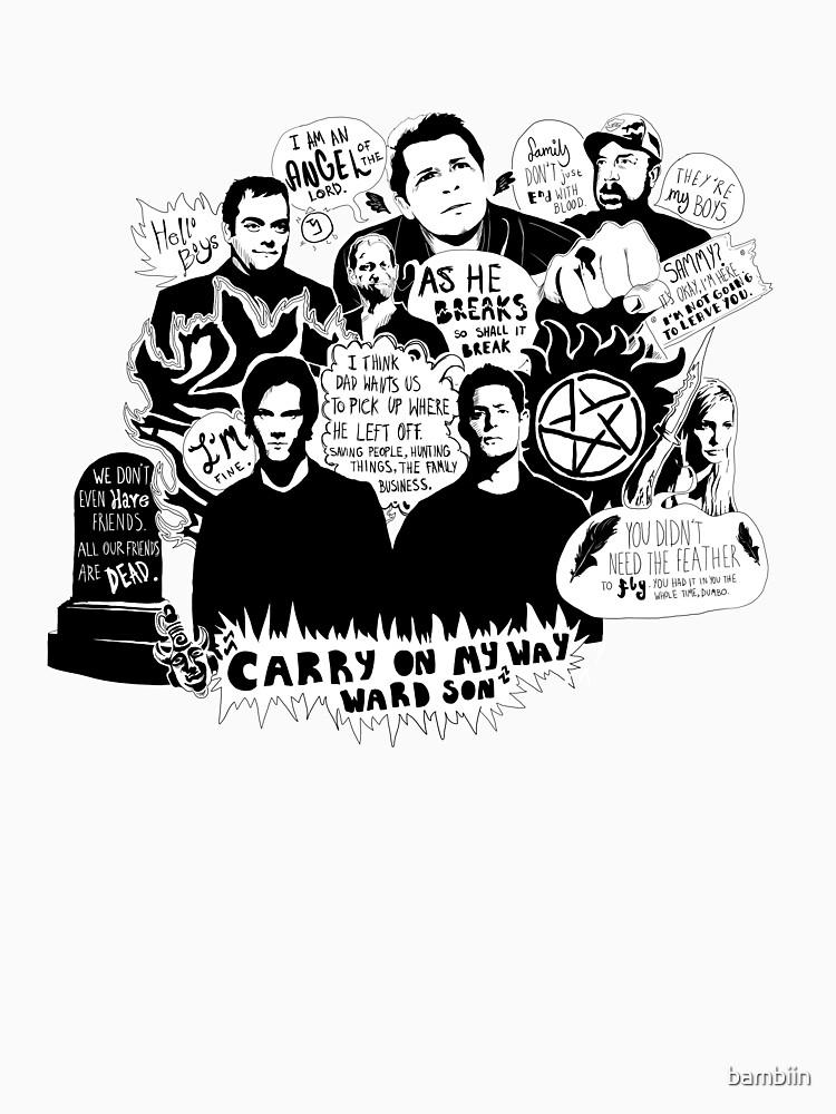 Supernatural Quotes | Unisex T-Shirt
