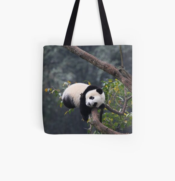 If I Close My Eyes Will I Fall Out Of This Tree? All Over Print Tote Bag