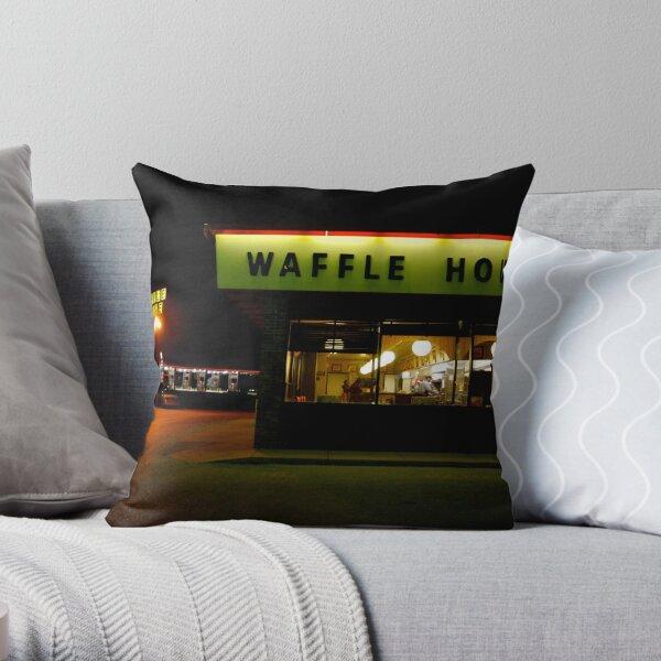 Waffle House near St. Louis, Missouri Throw Pillow