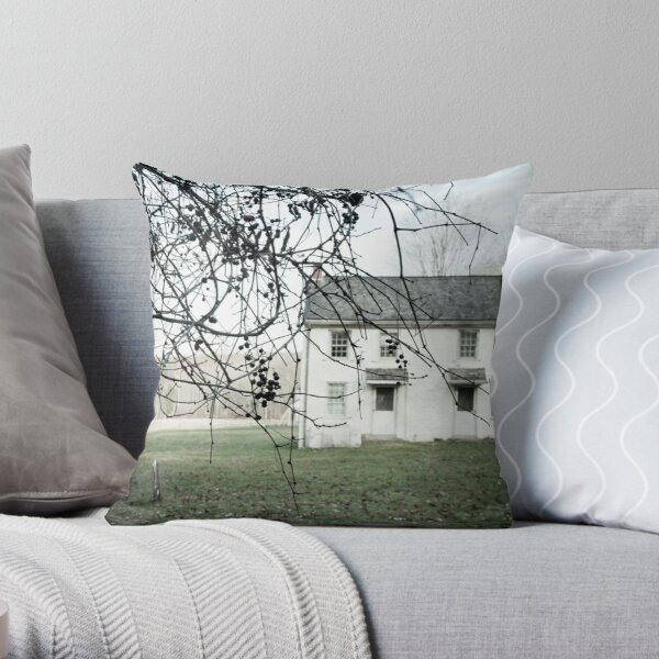 the slightest touch Throw Pillow