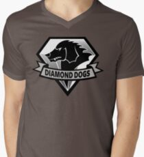 Diamond Dogs - 2015 Edition  (MGSV) Men's V-Neck T-Shirt