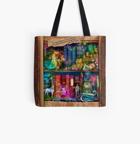 The Curious Library Calendar - December All Over Print Tote Bag