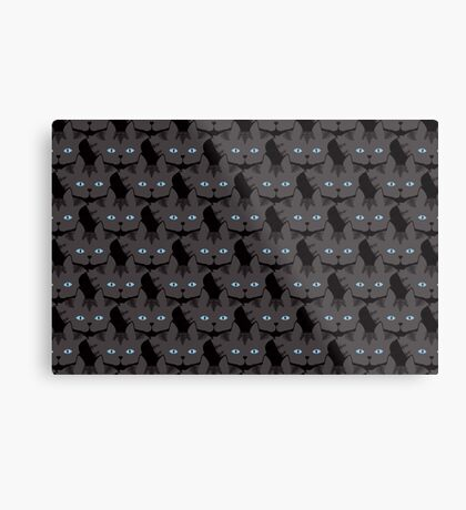 Grey #04  Tabby Cat Cattern [Cat Pattern] Metal Print
