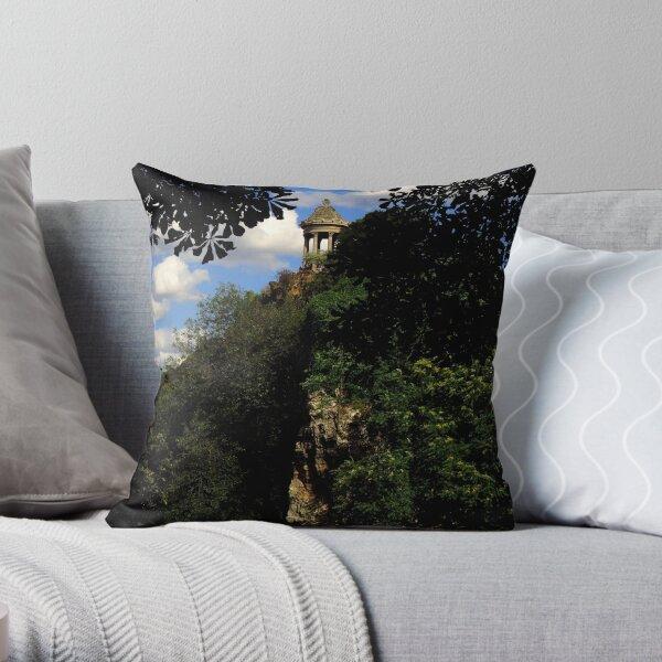 Parisian Garden ~ Part One Throw Pillow