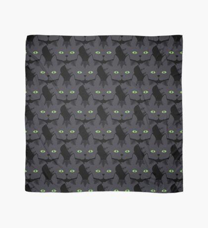Grey #05  Tabby Cat Cattern [Cat Pattern] Scarf