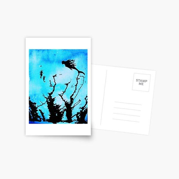 seahorse sights Postcard