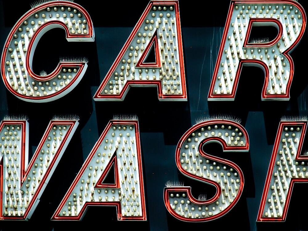 Car Wash, Broadway Style by John Narun