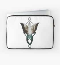 Evenstar at the Argonath Laptop Sleeve